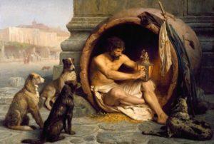 Диоген, его жизнь и взгляд на мир