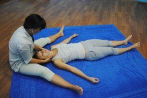 Техника тайской йоги массажа