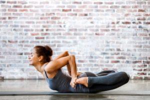 Эффект от упражнения йоги «Поза лягушки»