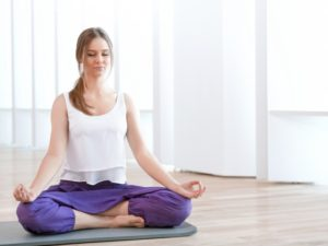 Техника выполнения позы лотоса в йоге