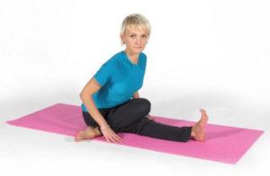 Комплекс упражнений йоги для тазобедренных суставов